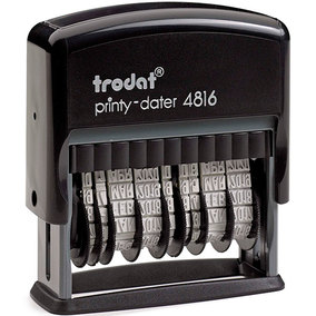 Trodat 4816 Dater (Bank)